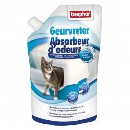 Beaphar granulés absorbeurs d'odeurs litière 400 g - La Compagnie Des Animaux