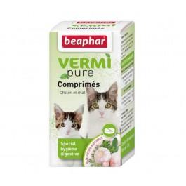 Beaphar vermipure comprimés purge aux plantes pour chaton et chat 50 cps - La Compagnie Des Animaux