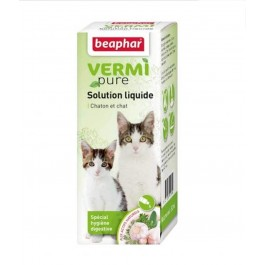 Beaphar Vermipure pour chaton et chat 50 ml - La Compagnie Des Animaux