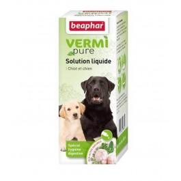 Beaphar Vermipure pour chiot et petit chien -15 kg 50 ml - La Compagnie Des Animaux