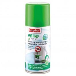 Beaphar VETOpure Diffuseur automatique insecticide habitation 150 ml (60 m²) - La Compagnie Des Animaux