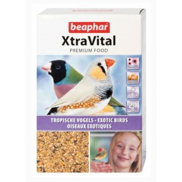 Beaphar XtraVital oiseaux exotiques 500 g - La Compagnie Des Animaux