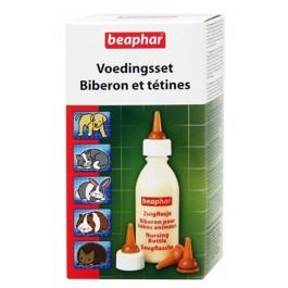 Beaphar Pack biberon et tétines (+ brosse à nettoyer) - La Compagnie Des Animaux