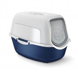 Maison de toilette pour chat Rotho Mypet Bleu Foncé - La Compagnie Des Animaux