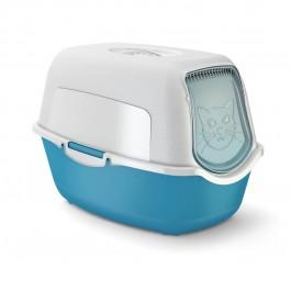 Maison de toilette pour chat Rotho Mypet Bleu - La Compagnie Des Animaux