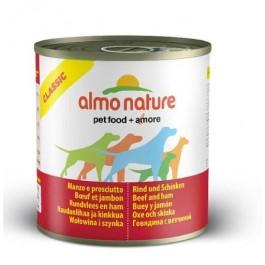 Almo Nature Chien Classic Boeuf et Jambon 12 x 290 grs - La Compagnie Des Animaux