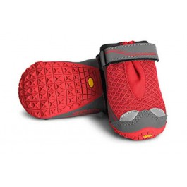 Bottines Ruffwear Grip Trex Rouge 70 mm - La Compagnie Des Animaux