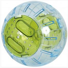 Zolux Boule d'excercie verte 12,5 cm - La Compagnie Des Animaux