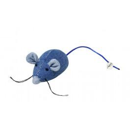 Bubimex jouet souris avec clochette et herbe à chat - La Compagnie Des Animaux