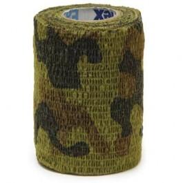 Bandes Cohésives 7.5 cm Camouflage - La Compagnie Des Animaux