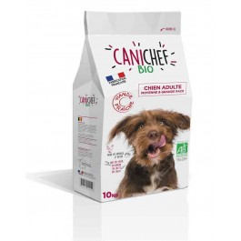 Canichef croquettes BIO chien grande race 10 kg - La Compagnie Des Animaux