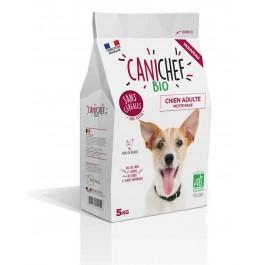 Canichef croquettes BIO sans céréales, sans gluten chien petite race 5 kg - La Compagnie Des Animaux