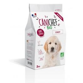 Canichef croquettes BIO sans céréales, sans gluten chiot 2 kg - La Compagnie Des Animaux
