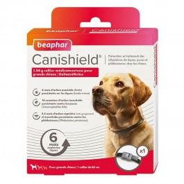 Beaphar Canishield collier grand chien contre les puces, tiques et moustiques 65 cm - La Compagnie Des Animaux