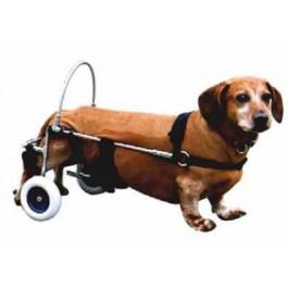 Chariot Canis Mobile pour chien paralysé du train arrière PM - La Compagnie Des Animaux