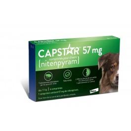 Capstar 57 mg pour chien - La Compagnie Des Animaux