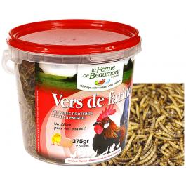 Vers de farine déshydratés 1.5 kg - La Compagnie Des Animaux