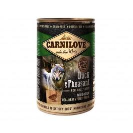 Carnilove Boite Sans Céréales Canard et Faisan chien 6 x 400 g - La Compagnie Des Animaux