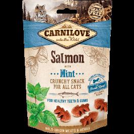 Carnilove Crunchy Snack Saumon & Menthe chat 50 g - La Compagnie Des Animaux