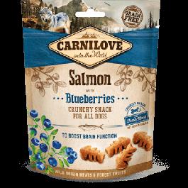 Carnilove Crunchy Snack Saumon & Myrtilles chien 200 g - La Compagnie Des Animaux