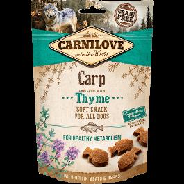 Carnilove Friandises Semi-Humides Carpe & Thym chien 200 gr - La Compagnie Des Animaux
