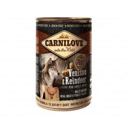 Carnilove Boites Sans Céréales Gibier et Renne chien 6 x 400 g - La Compagnie Des Animaux