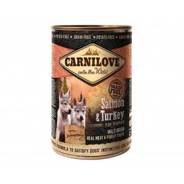 Carnilove Boites Saumon et Dinde chiot 6 x 400 g - La Compagnie Des Animaux