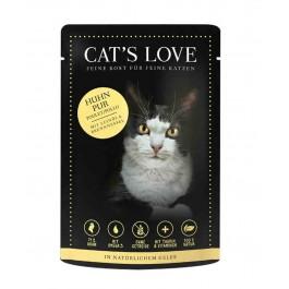 Cat's Love Classic Poulet sachets 12 x 85 g - La Compagnie Des Animaux