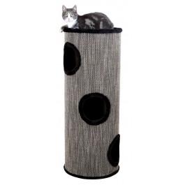 Trixie Cat Tower Amado pour Chat Diam 40 x H 100 cm Noir - La Compagnie Des Animaux