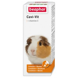Beaphar CAVI-VIT vitamine C pour rongeurs 50 ml - La Compagnie Des Animaux