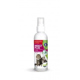 Naturlys lotion insect plus chat et chaton 125 ml + 50 ml offerts - La Compagnie Des Animaux