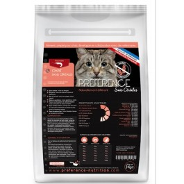 Préférence Croquettes Chat sans céréales 10 kg - La Compagnie Des Animaux