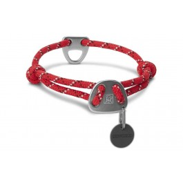 Collier Ruffwear Knot a Collar Rouge 51-56 cm - La Compagnie Des Animaux