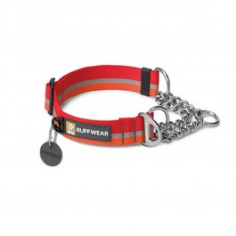 Collier Ruffwear Reaction Chain Rouge / Orange L - La Compagnie Des Animaux