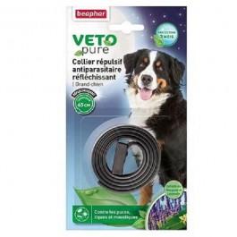 Beaphar VETOpure Collier insectifuge réfléchissant Grand chien - La Compagnie Des Animaux