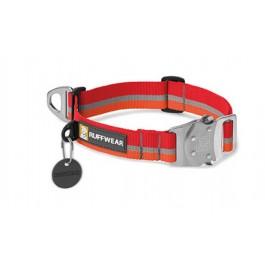 Collier Top Rope Ruffwear rouge/orange M - La Compagnie Des Animaux