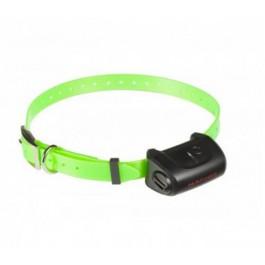 Collier seul Canicom 5 avec sangle vert fluo - La Compagnie Des Animaux