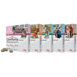 Comfortis Chien 140 mg 1,9 à 3 kg 6 cps - La Compagnie Des Animaux