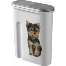 Container à croquettes 1,5 kg Curver modèle chien - La Compagnie Des Animaux