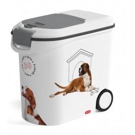 Container à croquettes 12 kg Curver modèle chien - La Compagnie Des Animaux