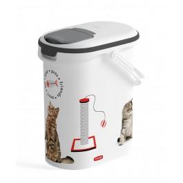 Container à croquettes 4 kg Curver modèle chat - La Compagnie Des Animaux