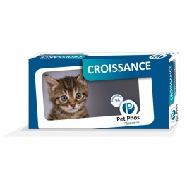 Pet Phos Croissance Chat 96 cps - La Compagnie Des Animaux