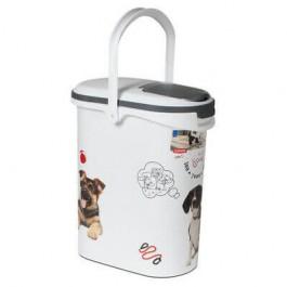 Container à croquettes 4 kg Curver modèle chien - La Compagnie Des Animaux