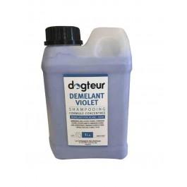 Démelant PRO Dogteur Creme Violet 1 L - La Compagnie Des Animaux