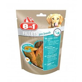 8in1 Fillets Pro Dental pour chien 80 g - La Compagnie Des Animaux