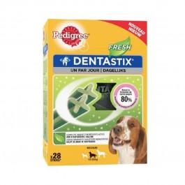 Pedigree Dentastix Fresh pour chiens moyens 28 bâtonnets - La Compagnie Des Animaux