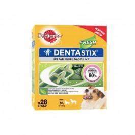 Pedigree Dentastix Fresh pour petits chiens 28 bâtonnets - La Compagnie Des Animaux