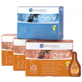 Dermoscent Essential 6 Chien et petits mammifères de 0 à 10 kg - 4 pipettes - La Compagnie Des Animaux