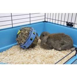 Distributeur de foin Bunny Toy pour rongeur - La Compagnie Des Animaux