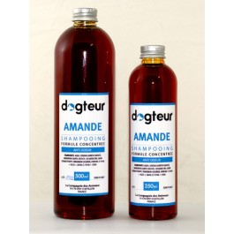 Offre Dogteur: 1 Shampooing PRO Dogteur Amandes 5 L acheté = 1 gant de toilettage offert - La Compagnie Des Animaux